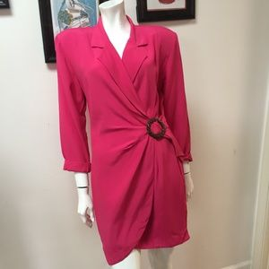 Vintage Arrested by Jonathan Martin Hot pink Dress